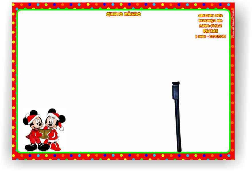 Natal do Mickey Elo7