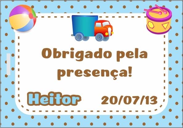 Cartão de agradecimento - nascimento no Elo7 FilicosArts (311B7D)
