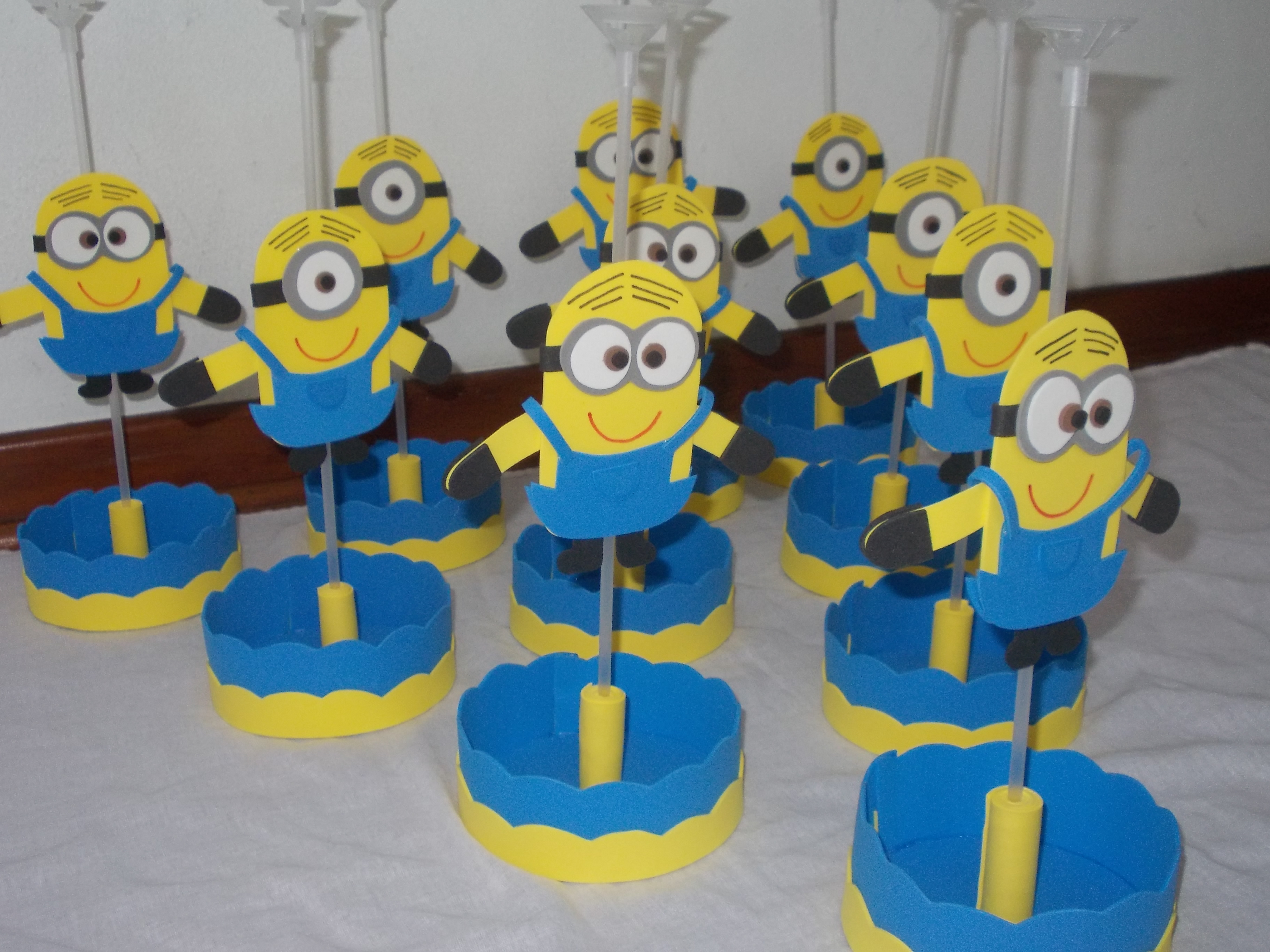 Centro D Mesas The Gallery For Gt Centros De Mesa De Minions