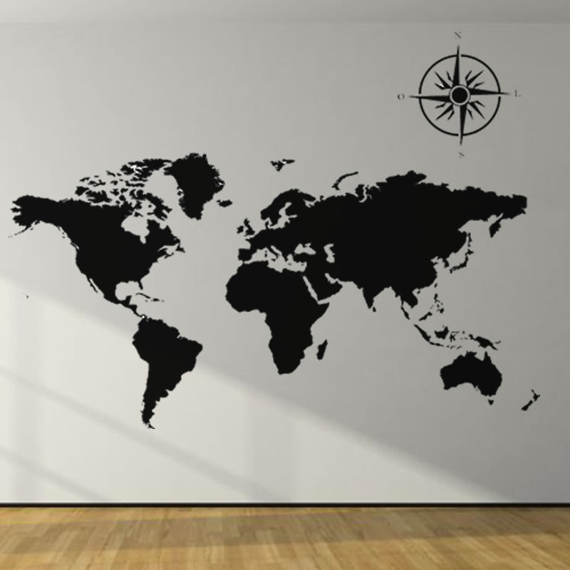 World Political Map Hd Wallpaper Adesivo Decorativo Mapa Mundi No Elo7 Ld Creativity