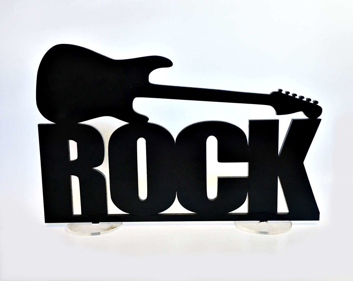 Rock N Roll Interieur Simbolo Do Rock N Roll Decora 231 227 O De Interior