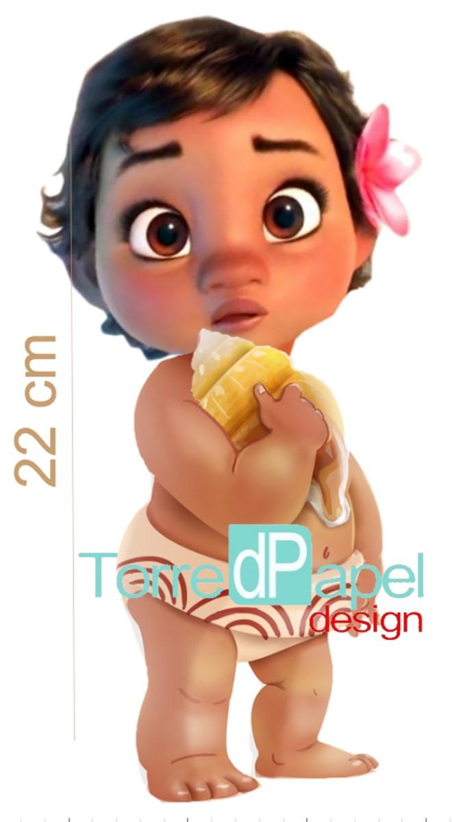 Cute Girl Background Wallpaper Enfeite Moana Baby Display De Mesa No Elo7 Torre D
