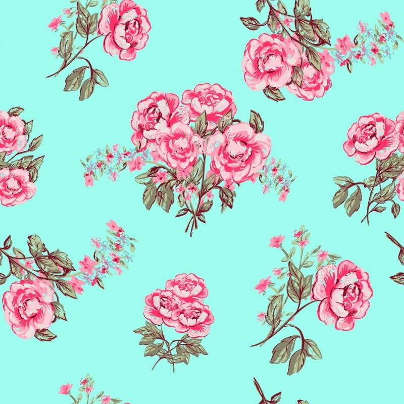 Iphone 5 Wallpaper Pink Papel De Parede Rose Vintage No Elo7 Qcola 5342a8