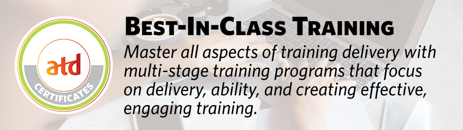Train the Trainer Training Certificate Course - ATD