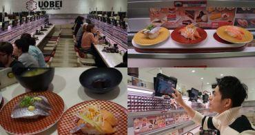 [東京] 澀谷UOBEI魚米迴轉壽司 - 自助點餐快速輸送帶,平價又有趣的迴轉壽司