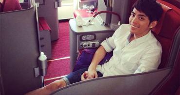 [香港] 香港航空升等商務艙 - A330-300客機180度伸展座椅初體驗