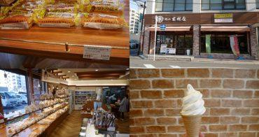 岡山|岡山木村屋 - 超平價招牌香蕉奶油麵包、霜淇淋,24小時營業桑田町店