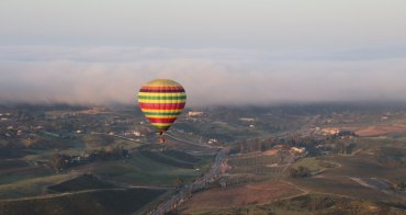 加州|A Grape Escape Hot Air Balloon Adventure - Temecula特曼庫拉,葡萄園空中冒險熱氣球之旅!
