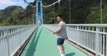 常陸太田|二訪龍神大吊橋 - 茨城秘境活動推薦,龍神峽划獨木舟真的好好玩!