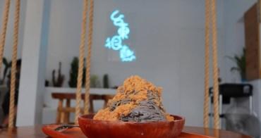 台東 台東很熱冰品 - 東河特色美食推薦,吃招牌「魚鬆黑芝麻冰」配太平洋的風