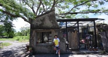 屏東|樹夏飲事 - 恆春最美殘壁玻璃咖啡廳,鳳凰樹下的盛夏時光
