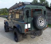 Expedition Roof Rack Land Rover Defender 110   Escape4x4 ...