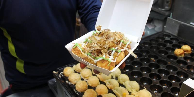 台南 午後宵夜小食力x口感恰到好處的美味章魚燒 台南市中西區|大阪城章魚燒