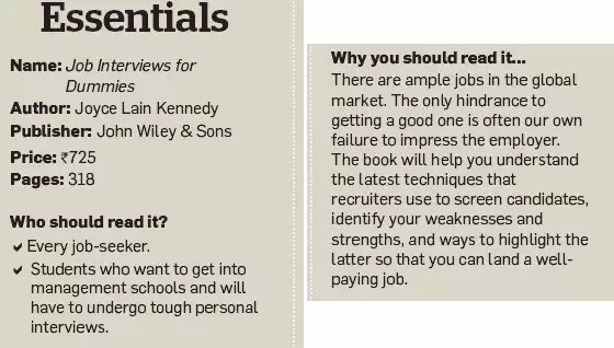 Book review How to convert an interview into a job - The Economic Times