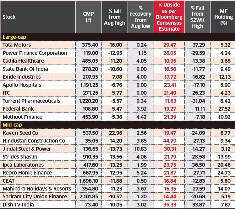 These 10 companies with large mutual fund holdings could deliver