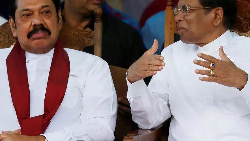 Image result for no trust motion against the PM in Sri Lanka