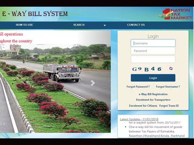 GSTN E-way bill platform open to all users,14 states join trial run