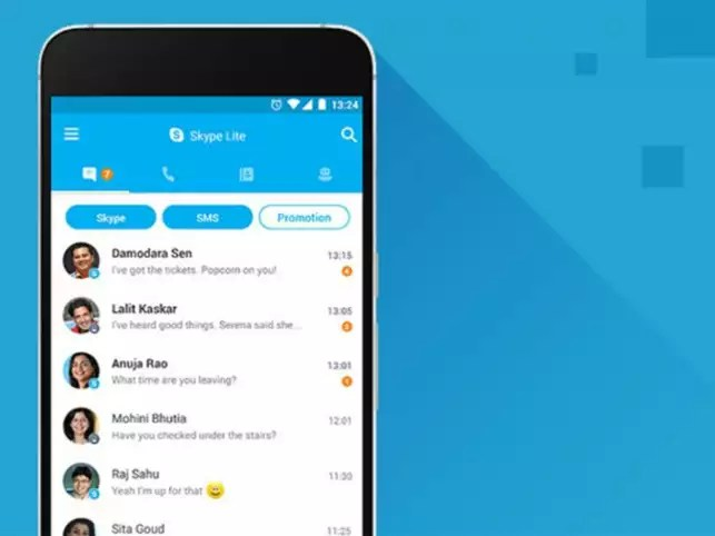 Microsoft Microsoft adds SMS Insights for Skype Lite users in India