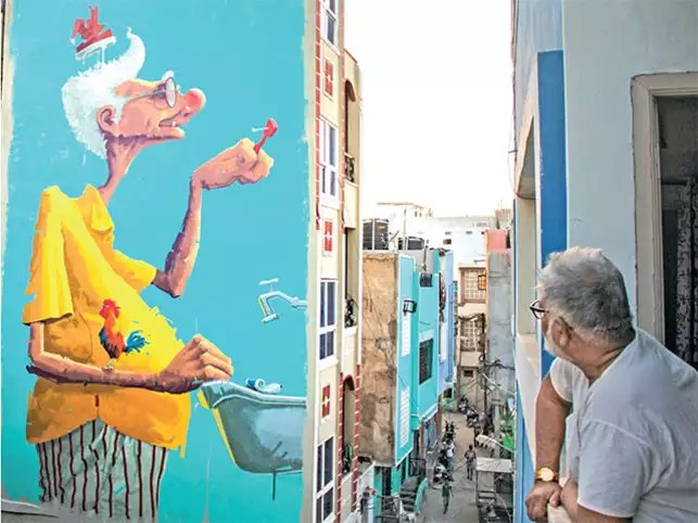 wall art in cities How city walls are becoming the artist\u0027s canvas
