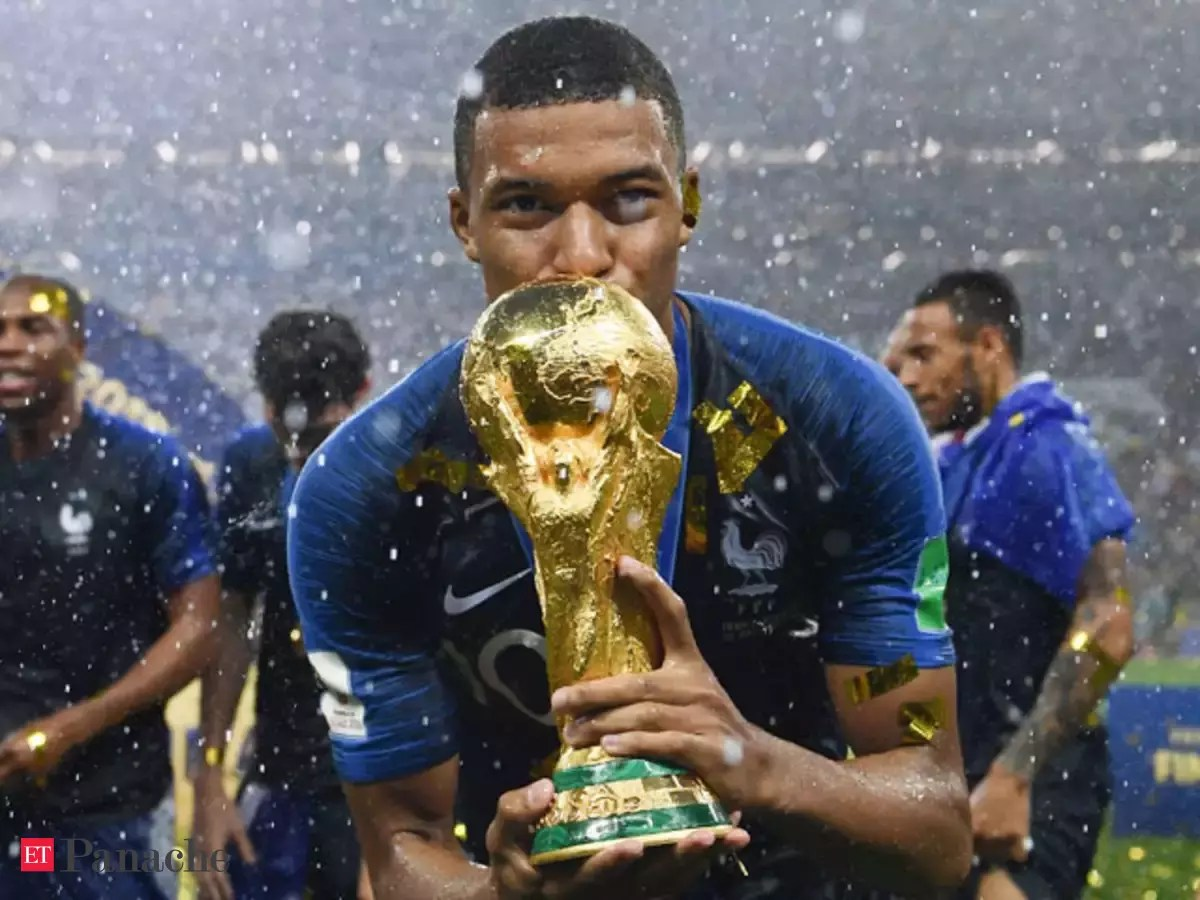 Lit Kylian Kylian Mbappe World Cup Final Star Kylian Mbappe Played Match