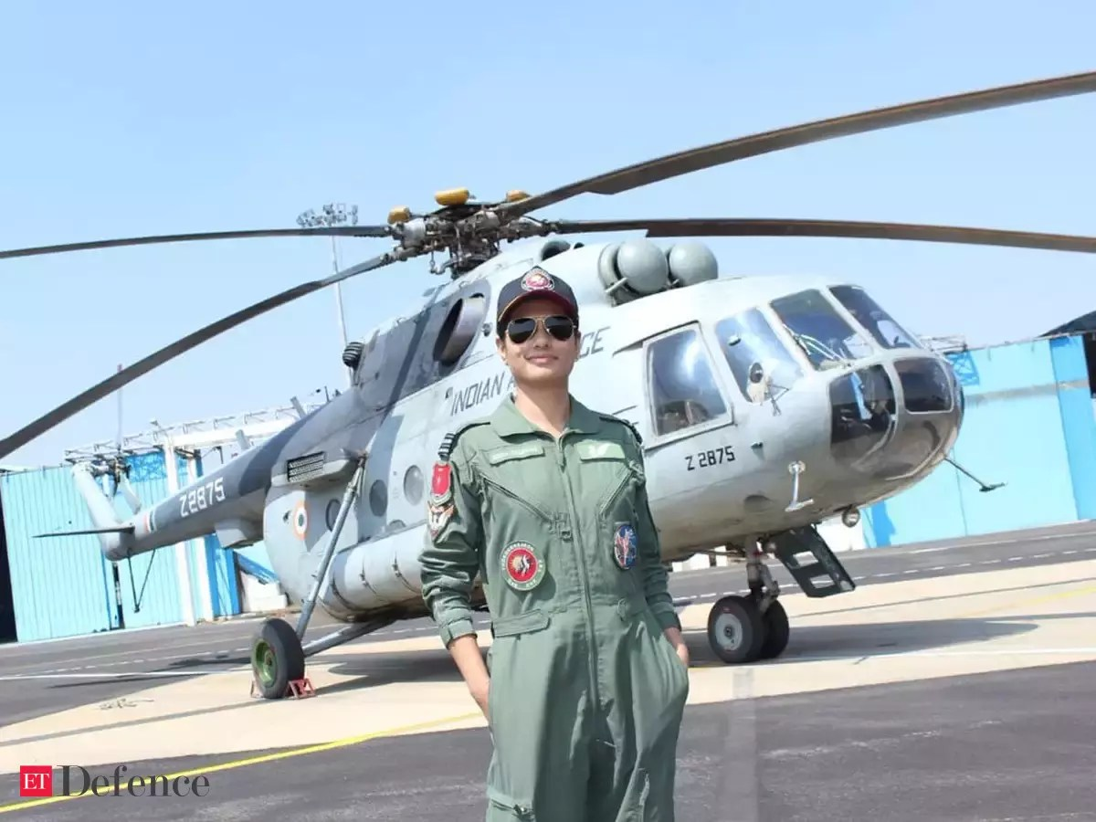 Golden Eye Herborn Indian Air Force Gets Its First Woman Flight Engineer The