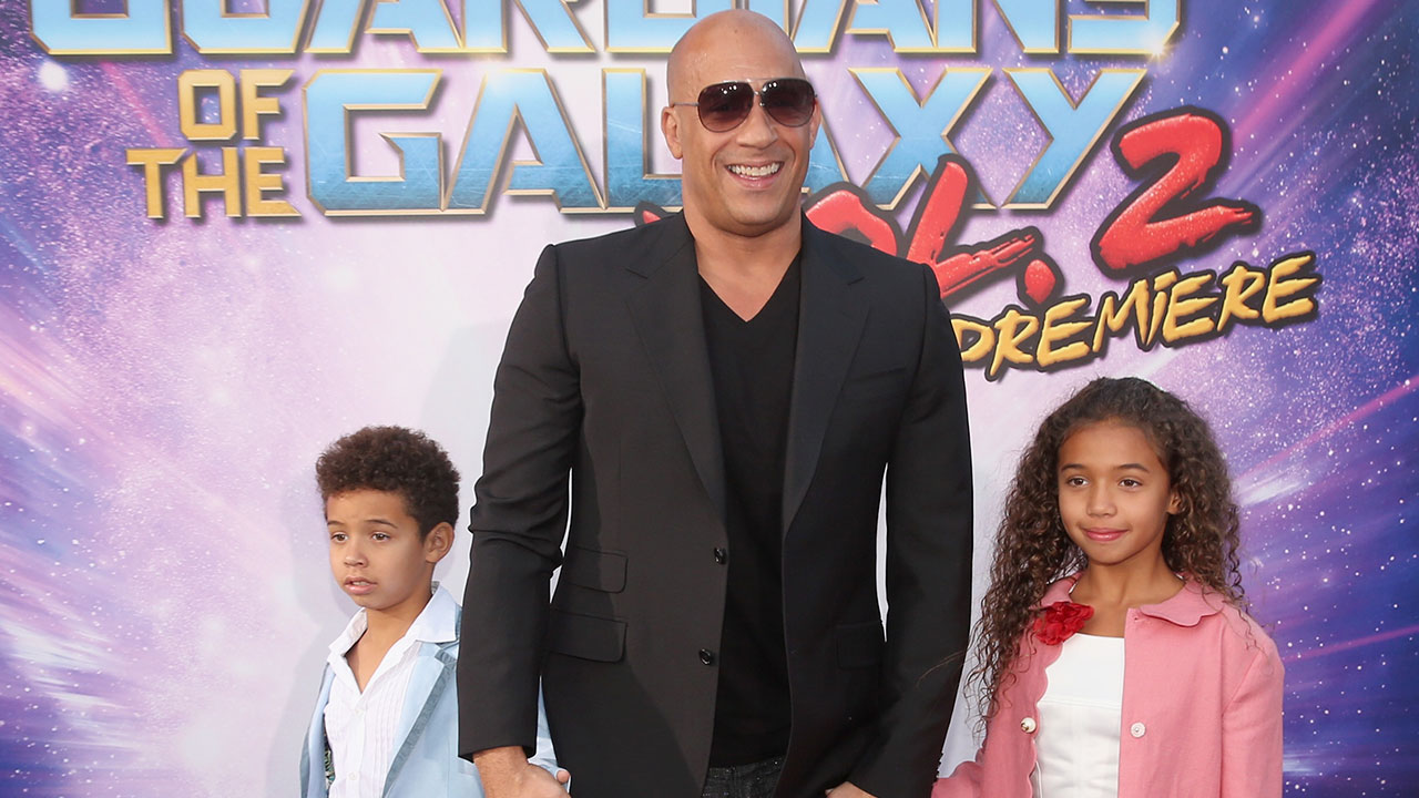 2 Kid Exclusive Vin Diesel S Adorable Daughter Is The Most Excited Kid