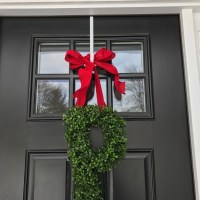 Front Door Decorations Personalized Wreaths Year Round
