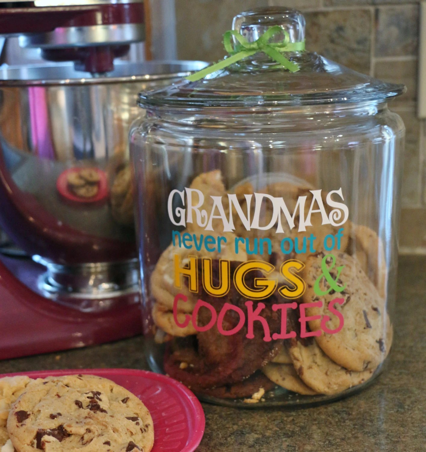 Modern Cookie Jar Svg Grandma 39s Cookies Svg Cookie Jar Design Grandmas