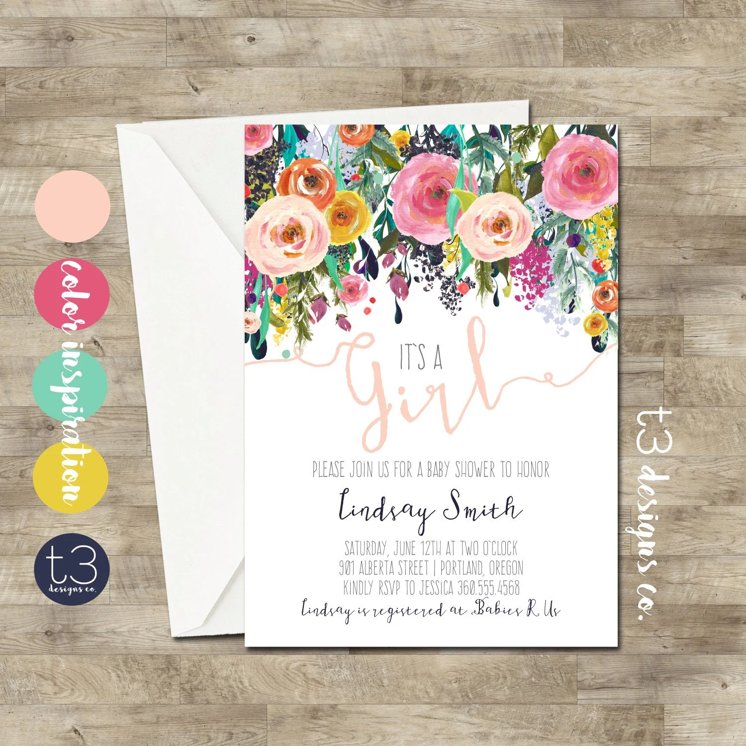 Amusing Watercolor Baby Shower Floral Baby Baby Girl Girl Watercolor Blush Pink Watercolor Baby Shower Floral Baby Baby Girl Baby Shower Invitations Girl Amazon Baby Shower Invitations Girl Flowers baby shower Baby Shower Invitations Girl