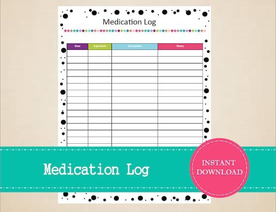 medication schedule printable - Thevillas - medication schedule printable