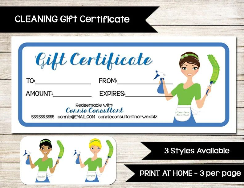 house cleaning template free