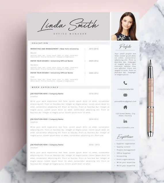 template cv graphique designer