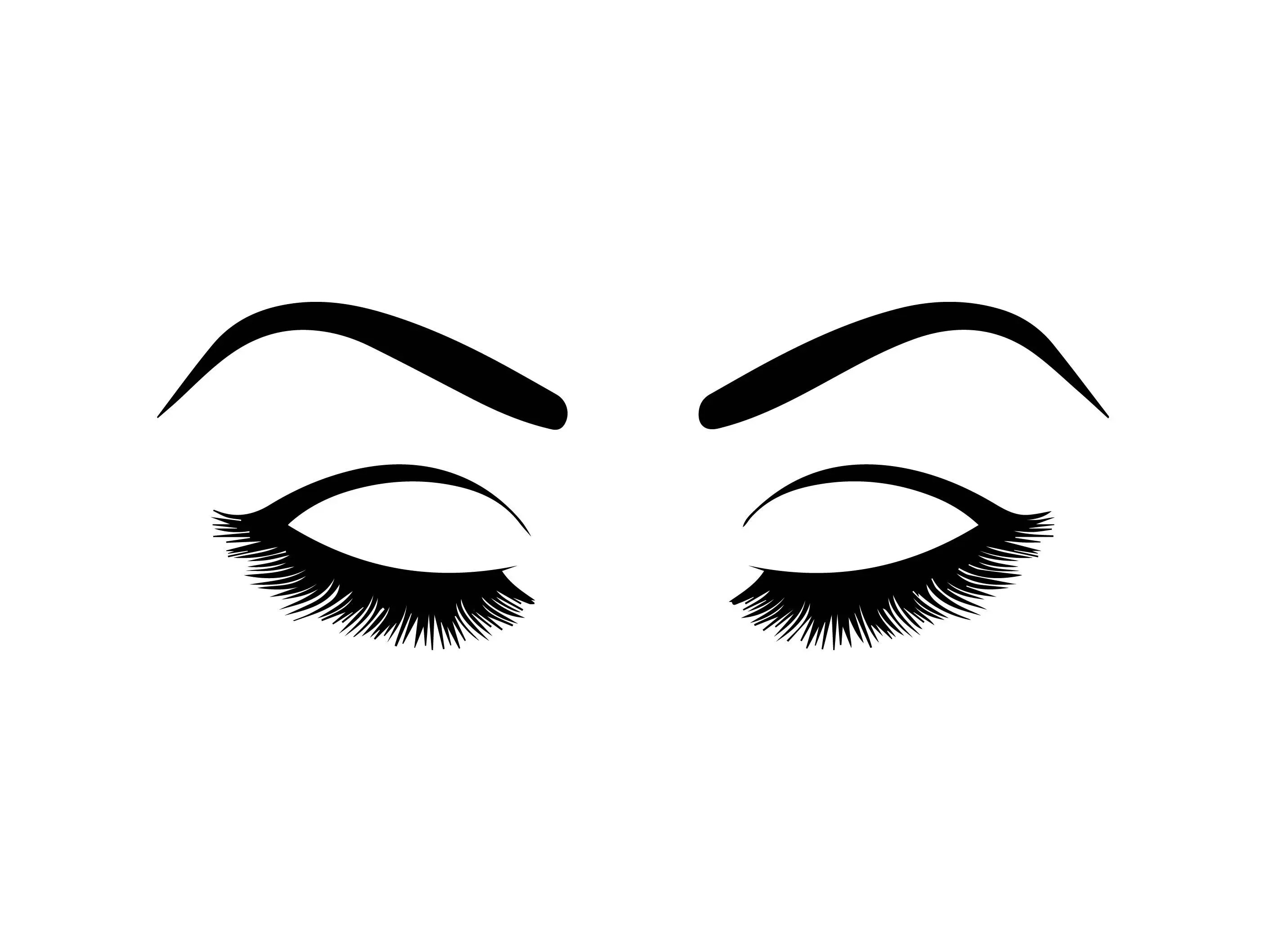 Make Your Own Monogram Iphone Wallpaper Eyebrow Eyelashes Vision Human Female Ojos Sign Eyeball See