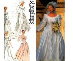 Small Of Wedding Dress Patterns
