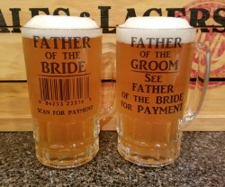 Fantastic Wedding Gift Parents Dads Far Groom Thank You Gifts Dads Far Groom Beer Stein Beer Glass Wedding Gift Bride Gift Far Bridegroom Gifts Far Bride Gift Far