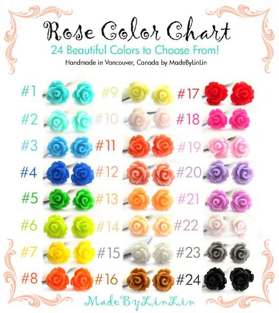 rose color meaning chart - Seatledavidjoel