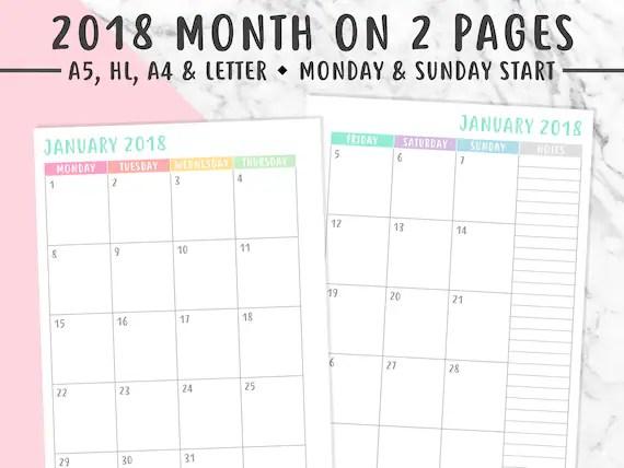 planner month - Goalgoodwinmetals