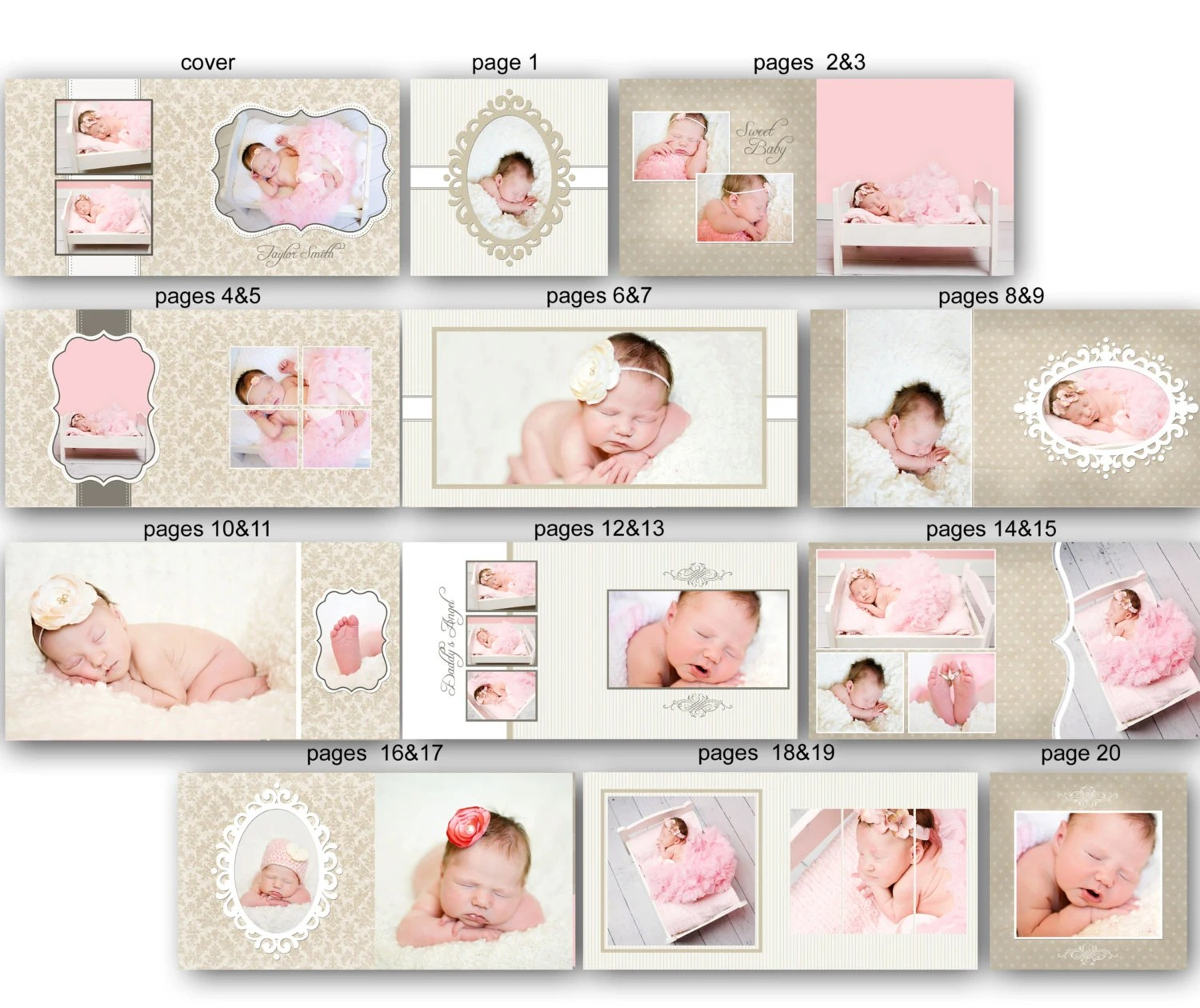 baby album templates - Ozilalmanoof - photo album templates free