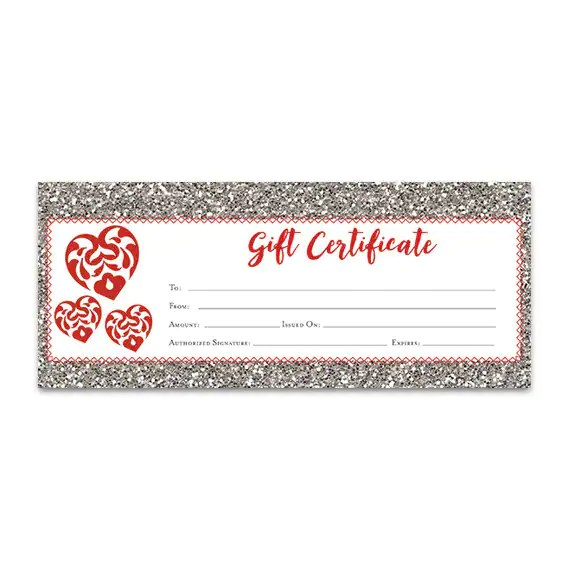 gift certificate download - Intoanysearch