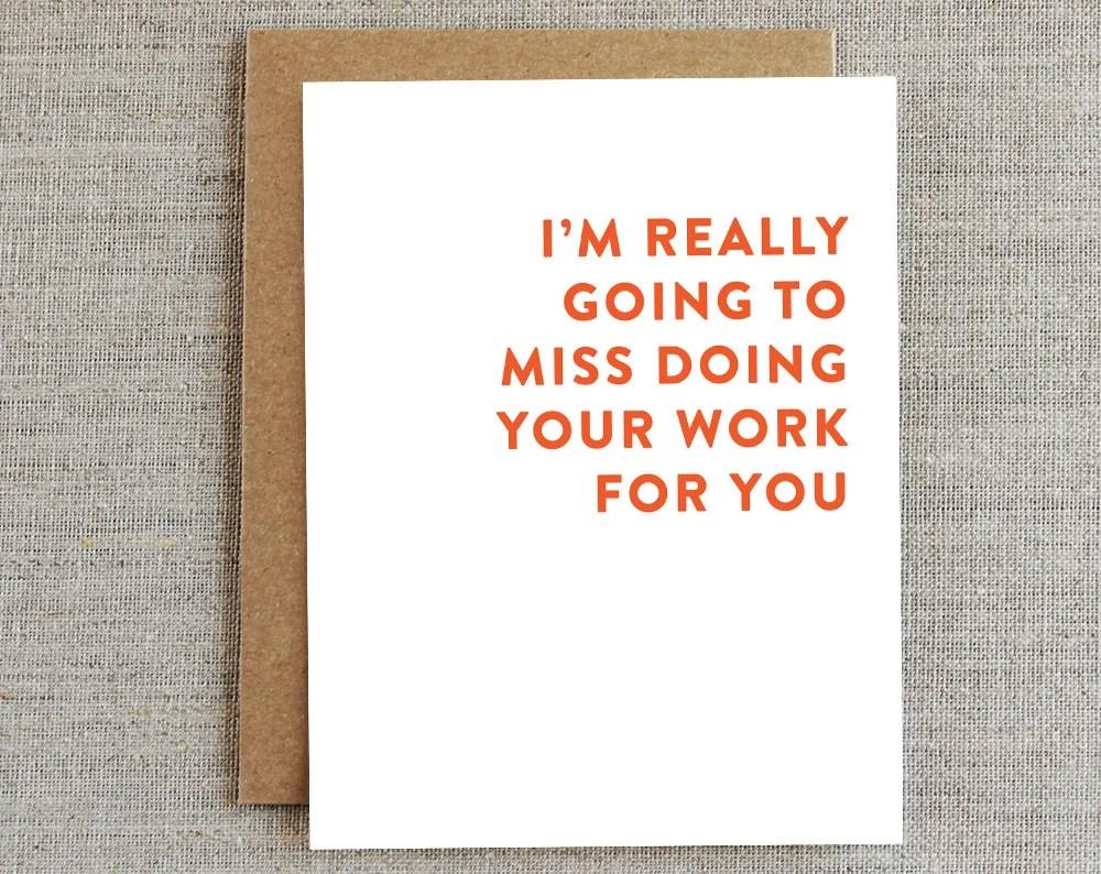goodbye card printable