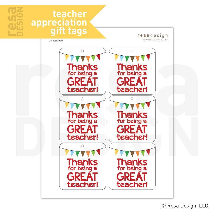 thank you gift tags - Towerssconstruction