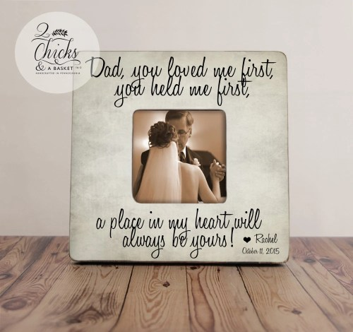 Bodacious Bride Frame Bride Frieze Frame Far Far Bride Gifts Etsy Far Bride Gifts I Loved You Dad You Loved Me You Held Me Far