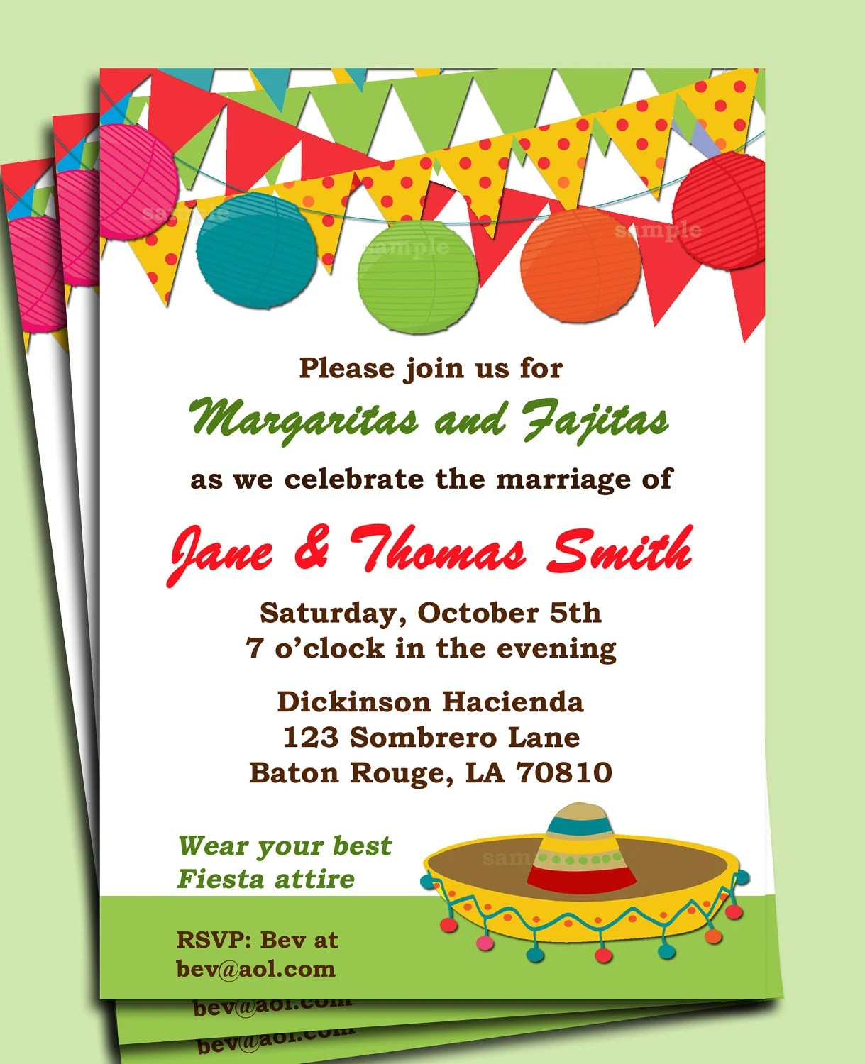 fiesta invitations templates free - Alannoscrapleftbehind - celebration invitations templates