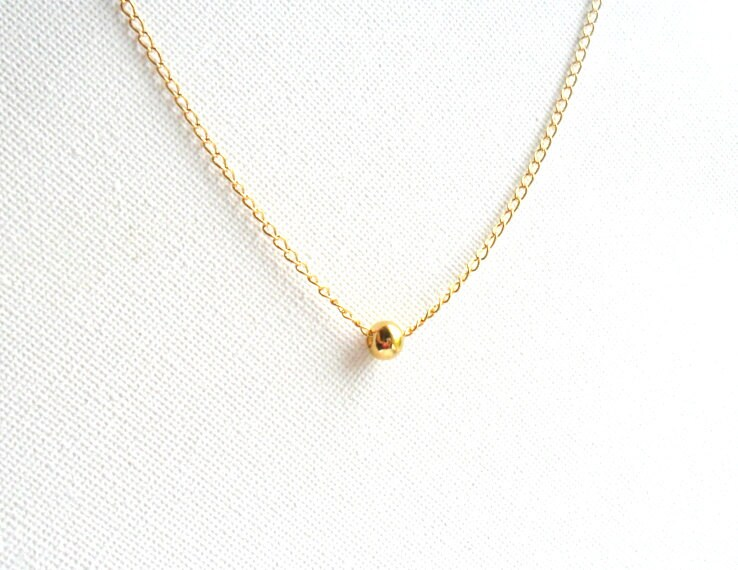 Lovely Simple Gold Necklace Design Best Jewelry