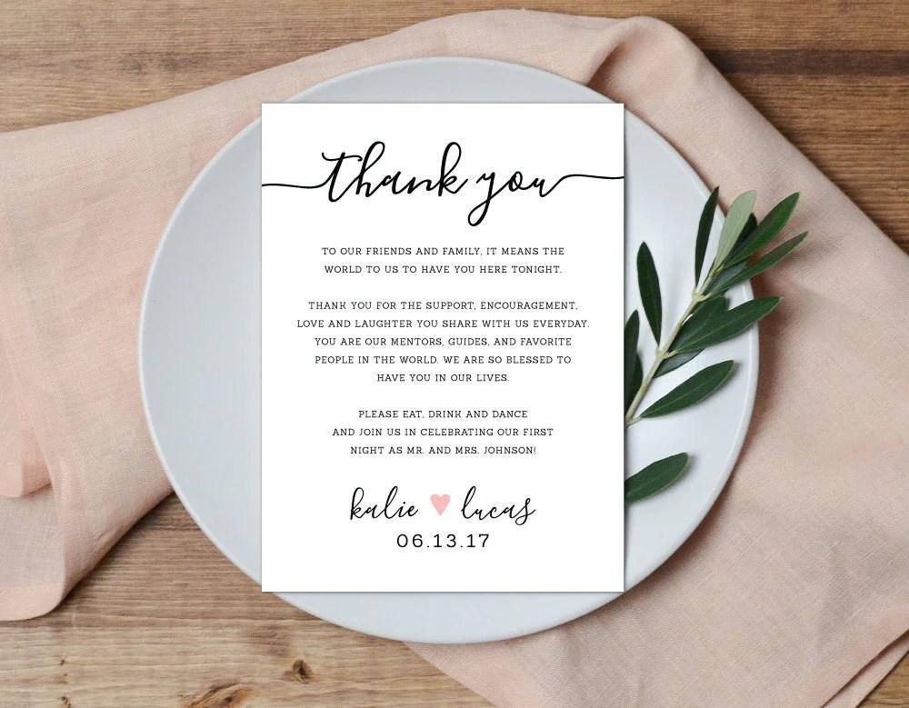 thank you notes wedding - Goalgoodwinmetals