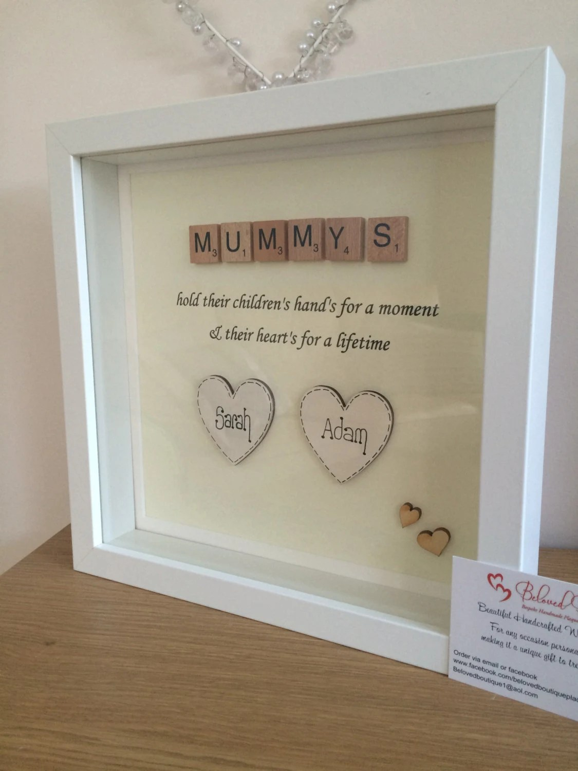 Ikea Gift Card Australia Personalised Scrabble Mum Frame