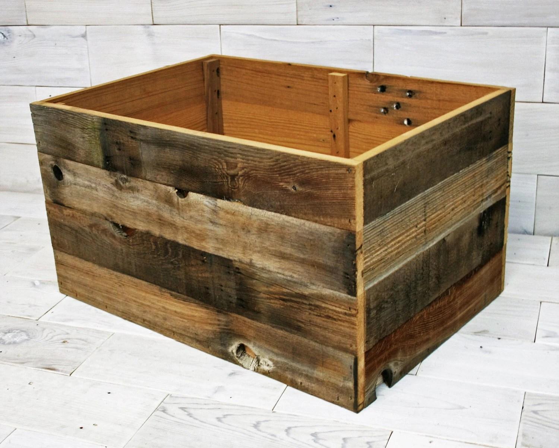 Barn Wood Box 20 X 16 X 12 Aka Barnwood