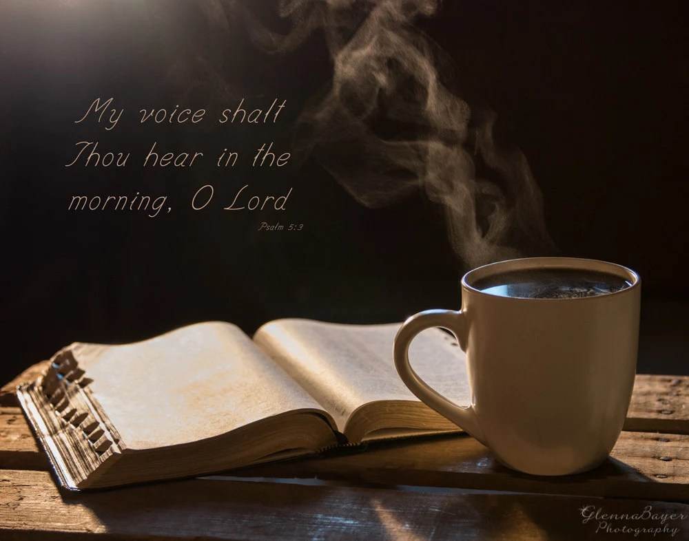 Godly Wallpaper Quotes Morning Coffee And Bible Scripture Wall Art On Canvas Home