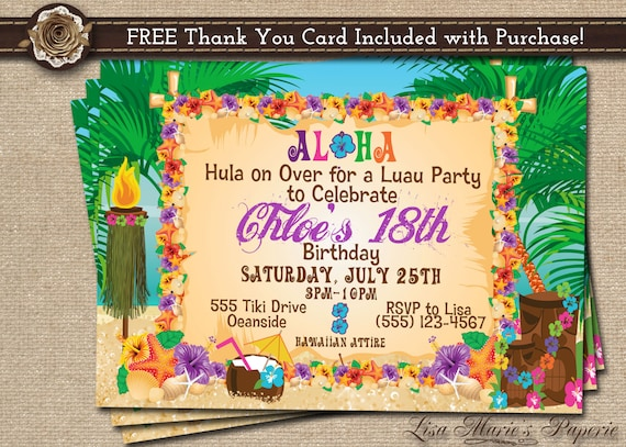 make your own birthday invitations online free printable