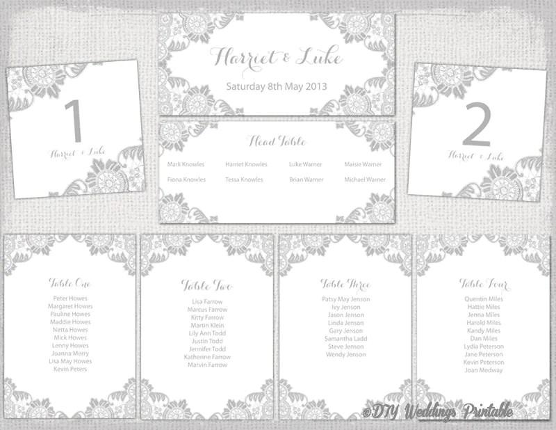 wedding table planner template - Josemulinohouse